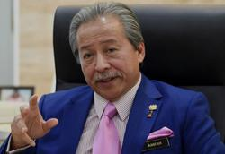 Anifah's meeting with Hajiji a courtesy call, nothing else