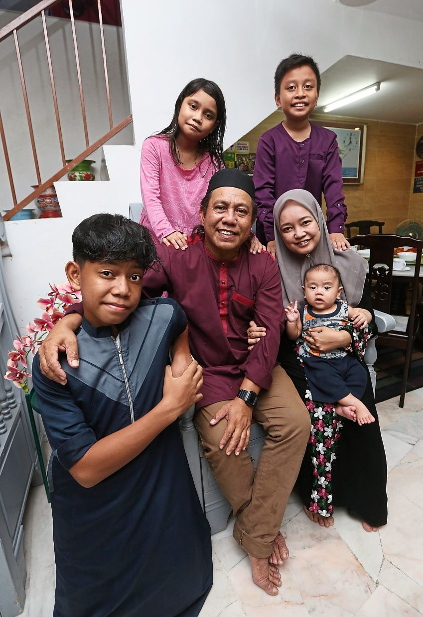 Family is all about teamwork, says Shahrul. Photo: The Star/Izzrafiq Alias