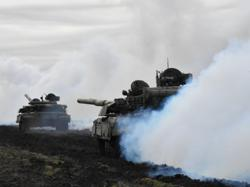 Russia, Ukraine hold military drills, NATO criticises Russian troop build-up