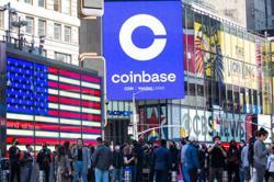 Coinbase valued at US$86bil in choppy Nasdaq debut