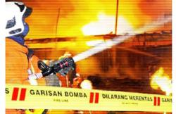 Two seriously injured in Kota Belud house fire