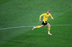 Goal dry up for Haaland but Dortmund coach happy with contribution