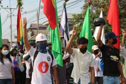 Myanmar security forces arrest prominent leader of anti-coup campaign