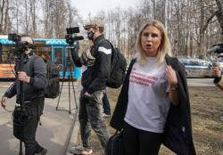 Navalny ally Sobol says Russian court has sentenced her to community service