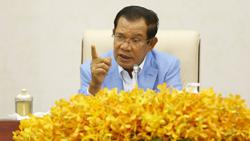 Cambodian PM: Officials to be punished for leaking audio lockdown order