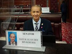Sabah STAR sec-gen Guandee Kohoi to be sworn in as Deputy Tourism, Arts and Culture Minister on Friday (April 16)