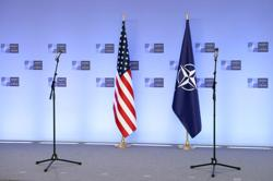 NATO backs U.S. sanctions on Russia, decries Moscow's