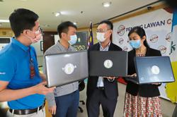 Aiming to give more laptops to needy kids