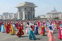 N. Korea marks 109th Day of the Sun
