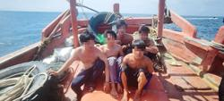 Foreign fishing vessel seized and crew arrested
