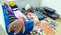 Man wrecks mum's home to get half share