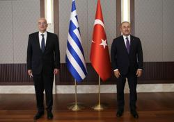 Turkish, Greek foreign ministers trade accusations at news conference