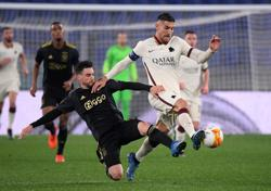 Resolute Roma earn Ajax draw to reach Europa League semis