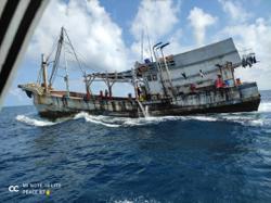 Kudat MMEA seizes Vietnamese fishing vessel with 20 crewmen for trespass