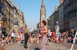 Edinburghs international arts festival set for reimagined outdoor return