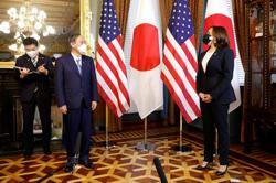 U.S. vice president Harris meets Japan's Suga ahead of White House summit