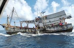 MMEA detains another Vietnamese fishing boat