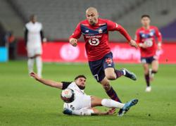 Leaders Lille drop points in Montpellier draw