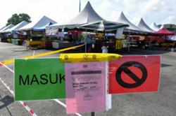 Tok Adis Ramadan bazaar ordered to close for violating SOP