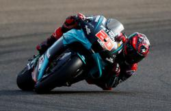 Motorcycling-Quartararo takes pole in Portugal as Bagnaia's lap is cancelled