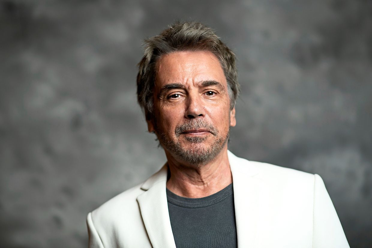 'It was necessary to go back to the principles of orchestration of the sounds of nature, to work from sounds which follow one another randomly, but which can compose a harmony or a dissonance, ' says Jarre. Photo: AFP