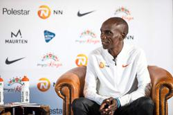 Life lessons in marathon keep Kipchoge going the distance