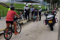 34 cyclists in Singapore caught breaking rules on roads over two days