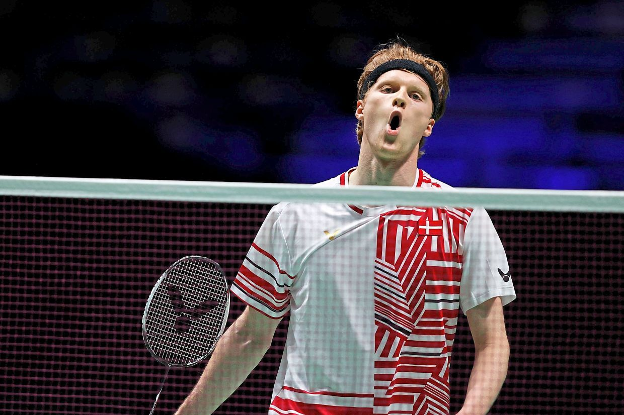 Men's world No. 3 Anders Antonsen has also pulled out over the spike in Covid cases in India.