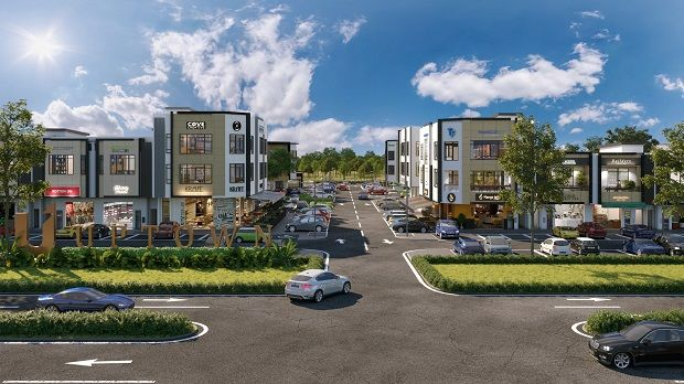 In the second quarter of 2021, NADI commercial hub will soon see the launch of a collection of 68 shops – Uptown@Rimbayu