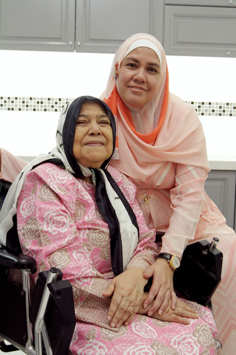 Balkis learnt how to make a range of Johor dishes for Hari Raya from her octogenarian mother Esah, a formidable home cook.