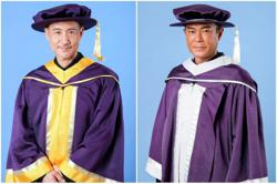 Jacky Cheung and Louis Koo conferred honorary awards