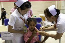Covid-19 vaccination programme in Laos makes good progress