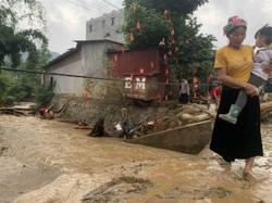 Vietnam's northern mountainous area hit by flash floods; three death confirmed