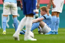 Soccer-Man City's De Bruyne ruled out of Villa clash