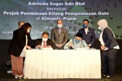 Sabah's first sugar factory, aquaculture project to create 1,000 direct job opportunities