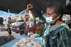 Granny toils to make ends meet