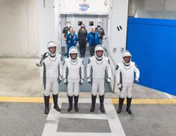 SpaceX set to take four astronauts to International Space Station on April 22