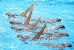 Olympics-Artistic swimming qualifier to be held outside Japan in June