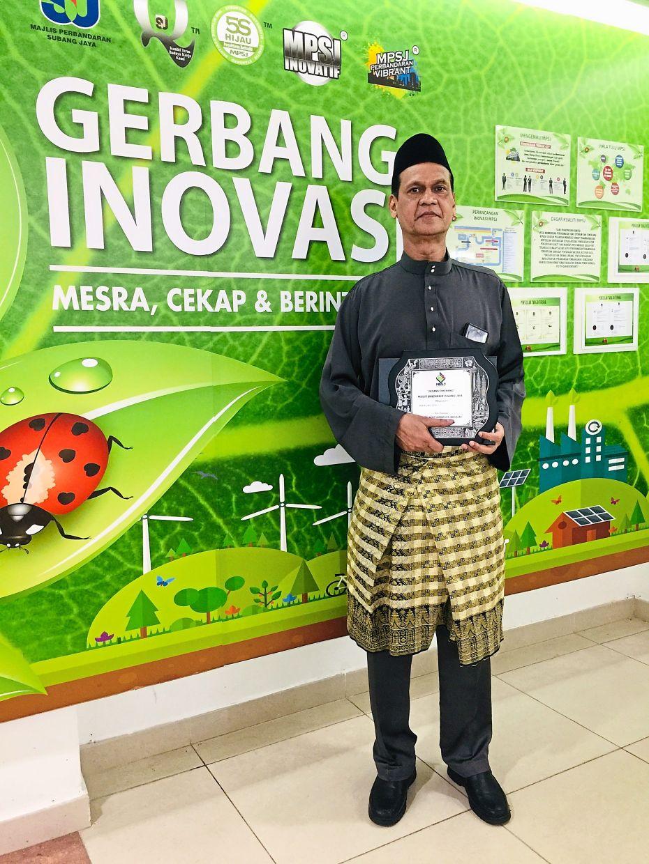 Retiree Mohd Kamar is proud of his wins at the Sukan Anggota-Anggota Kerajaan Malaysia.