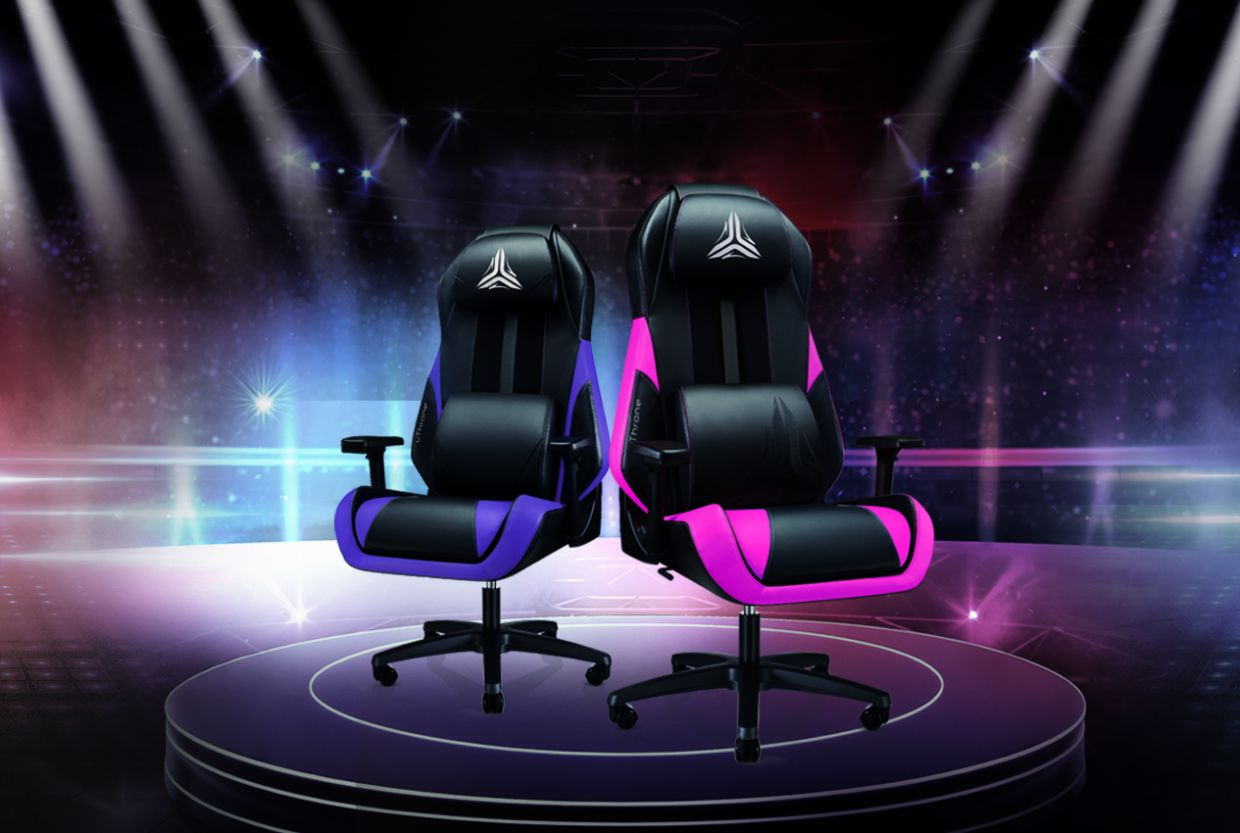 Level up your mother's game with the gaming uThrone chair.
