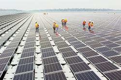 Hydro-solar plan for dams
