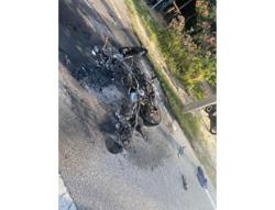 Bikers suffer serious burns after collision on Perak road