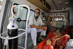 Oxygen supplies run low as India grapples with coronavirus