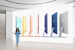 Apple launches redesigned iMac desktop with colours, custom chip