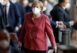 Germany's Merkel greets EU climate law