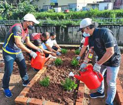 Waste management company sets up community garden in KL