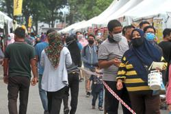 Cluster outbreak puts Ipoh folk on high alert