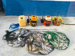 Two fishy hauls lead to arrests in two states