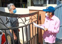 DOOR-TO-DOOR DRIVE TO COMPLETE CENSUS 2020