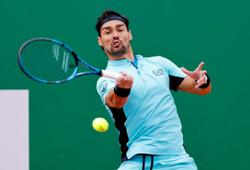 Tennis-Fognini defaulted for verbal abuse at Barcelona Open